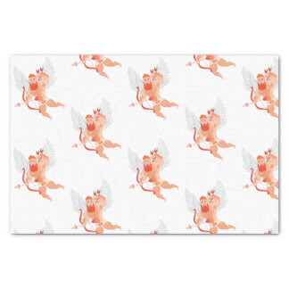 Naughty Cupid Tissue Paper