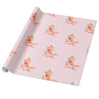 Naughty Cupid Wrapping Paper