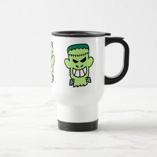 Naughty Halloween Frankenstein Travel Mug