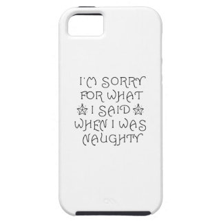 Naughty iPhone 5 Cover