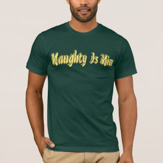 Naughty Is Nice T-shirt