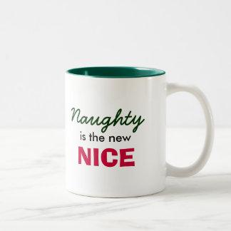 Naughty is the new Nice Two-Tone Coffee Mug