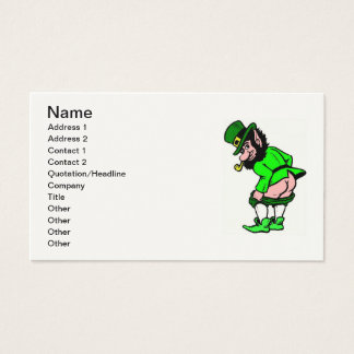 Naughty Leprechaun Business Card