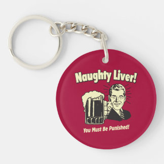 Naughty Liver: You Must Be Punished Keychain