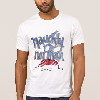 Naughty Norman 10 years from now Tshirt