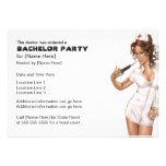 Naughty Nurse Bachelor Party Invites