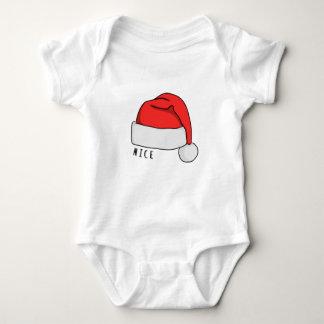 Naughty or Nice Baby Bodysuit - White