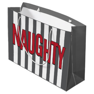 Naughty or Nice Christmas Gift Bag
