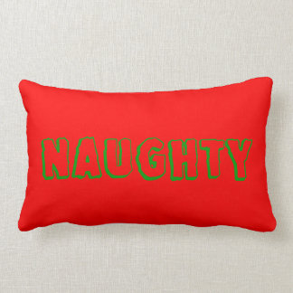 Naughty or Nice Reversible Christmas Pillow