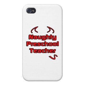 Naughty Preschool Teacher iPhone 4 Covers