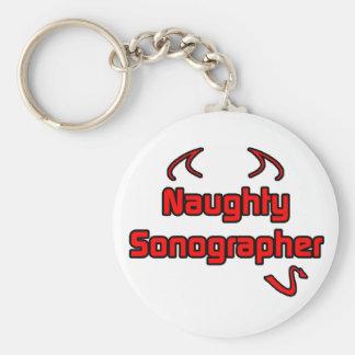 Naughty Sonographer Keychain
