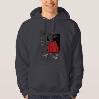 Naughty transformer cat hoodie