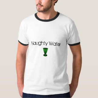 Naughty water - celebrating absinthe alcohol T-Shirt