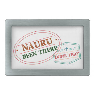 Nauru Been There Done That Belt Buckles