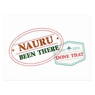 Nauru Been There Done That Postcard
