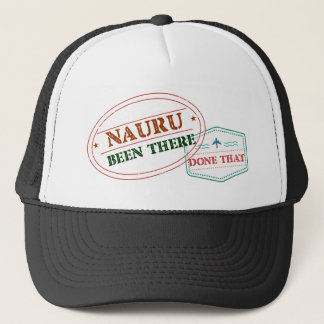Nauru Been There Done That Trucker Hat