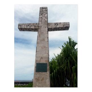 nauru cross postcard