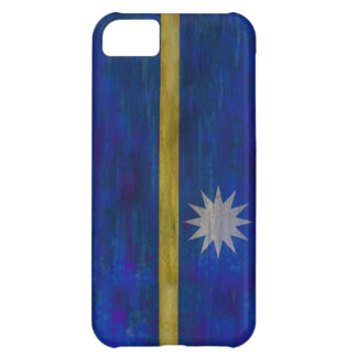 Nauru distressed flag iPhone 5C covers