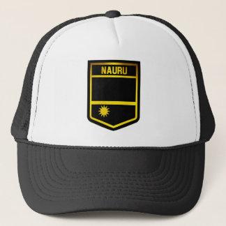 Nauru Emblem Trucker Hat