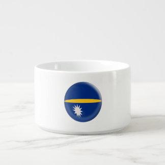 Nauru Flag Bowl