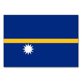 Nauru Flag Card