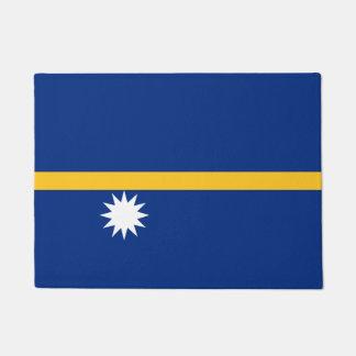 Nauru Flag Doormat