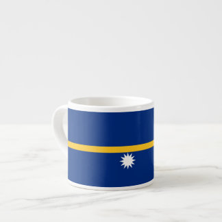 Nauru Flag Espresso Cup