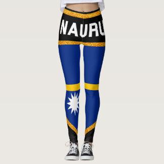 Nauru Flag Leggings