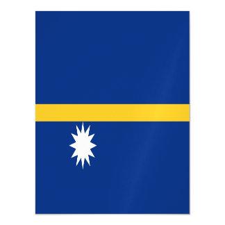 Nauru Flag Magnetic Card