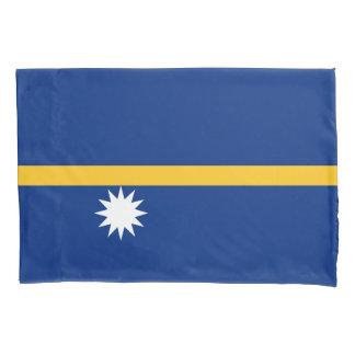 Nauru Flag Pillowcase