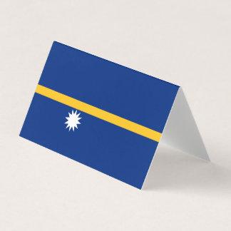 Nauru Flag Place Card