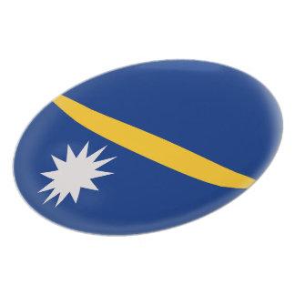 Nauru Flag Plate