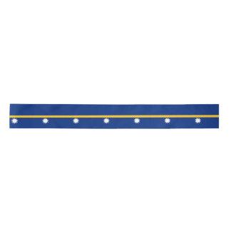 Nauru Flag Satin Ribbon