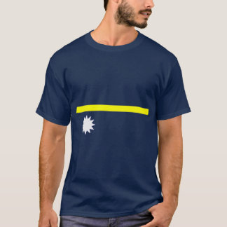 Nauru flag shirt
