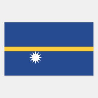 Nauru Flag Sticker