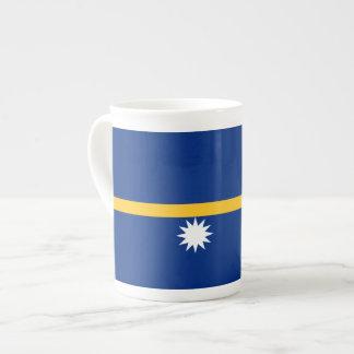 Nauru Flag Tea Cup