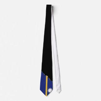 Nauru Flag Tie