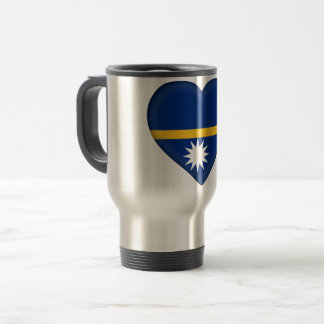 Nauru Flag Travel Mug