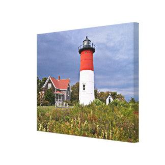 Nauset Lighthouse, Cape Cod Mass Canvas Print