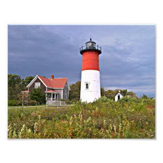 Nauset Lighthouse, Cape Cod Massachusetts Photo