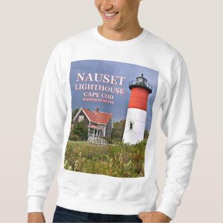 Nauset Lighthouse, Cape Cod Massachusetts Sweatshirt