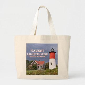 Nauset Lighthouse, Cape Cod Massachusetts Tote Bag