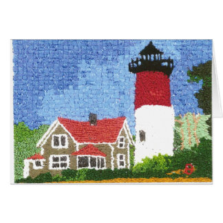 Nauset Lighthouse Card