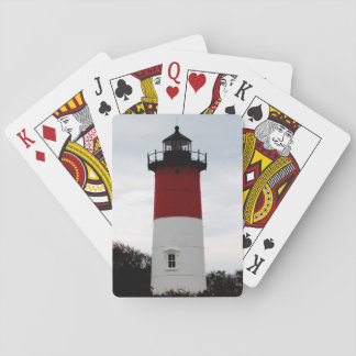 Nauset lighthouse playing cards
