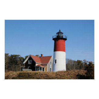 Nauset Lighthouse Poster