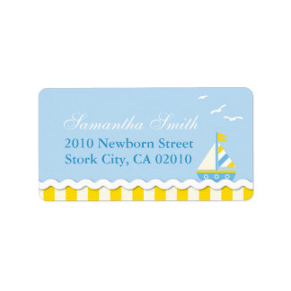 Nautical Address Label