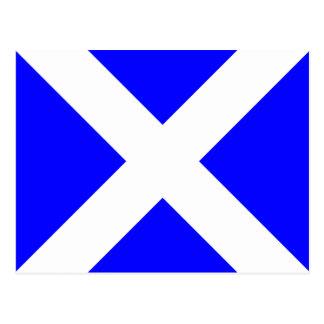 Nautical Alphabet Flag Signal Letter M Postcard