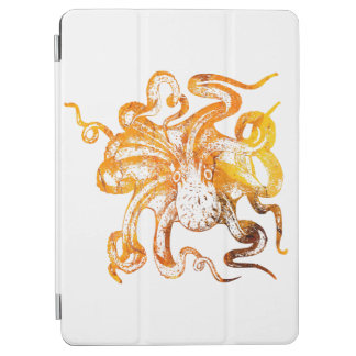 Nautical amber octopus iPad air cover