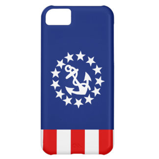Nautical American Yacht Flag Patriot Colors iPhone 5C Covers