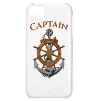 Nautical Anchor And Captain Case For iPhone 5C
